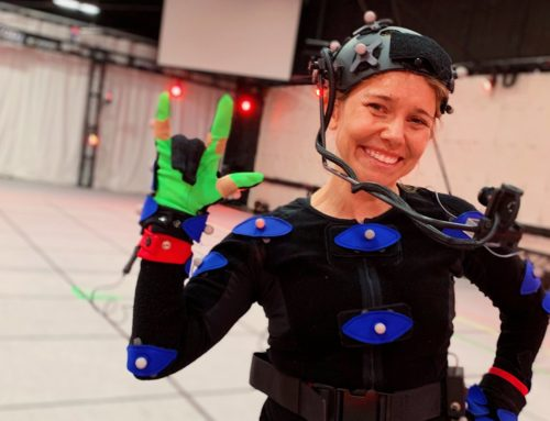 All Out On MoCap Shoot With Jody Stevenson